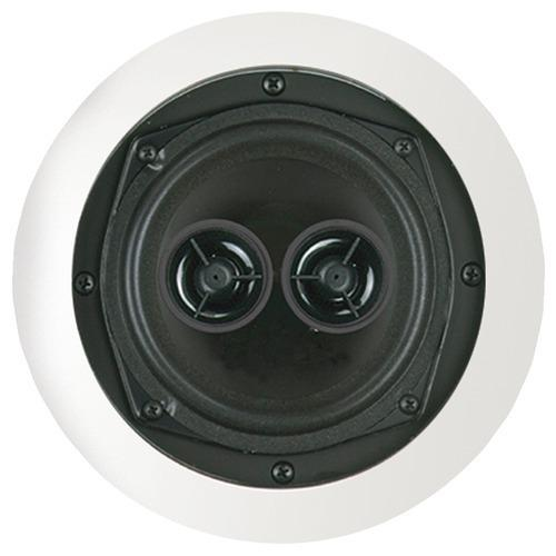 "Bic America 5.25"" Muro Dual Voice-coil Stereo Ceiling Speaker (pack of 1 Ea)"