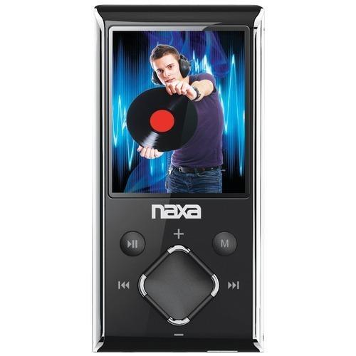 "Naxa 8gb 1.8"" Lcd Portable Media Players (silver) (pack of 1 Ea)"