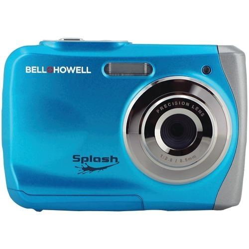 Bell+howell 12.0-megapixel Wp7 Splash Waterproof Digital Camera (blue) (pack of 1 Ea)