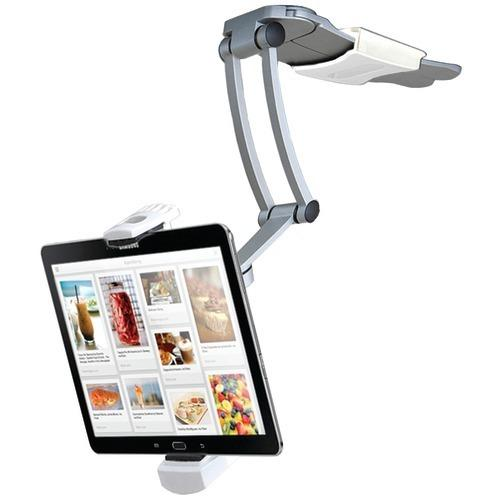 """Cta Digital Ipad Air And Ipad Mini And Surface Pro 4 & 7""""-12"""" Tablets 2-in-1 Kitchen Mount Stand (pack of 1 Ea)"""