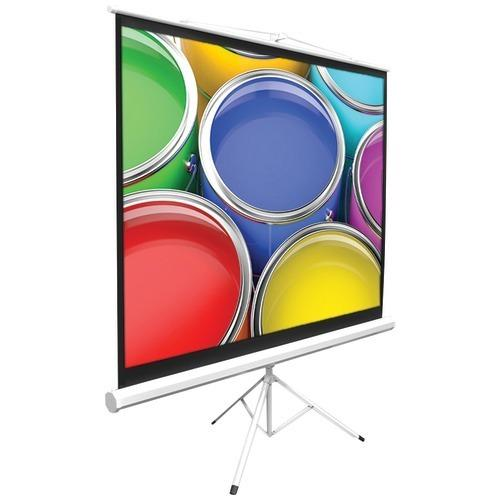 """Pyle Home Floor-standing Portable Tripod Manual Projector Screen (84"""") (pack of 1 Ea)"""