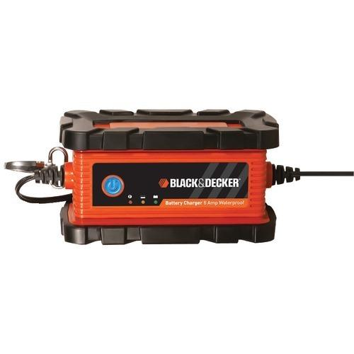 Black & Decker Waterproof Battery Charger And Maintainer (6 Amps) (pack of 1 Ea)