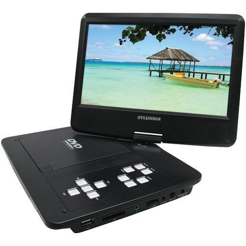"Sylvania 10"" Swivel-screen Portable Dvd Player (pack of 1 Ea)"