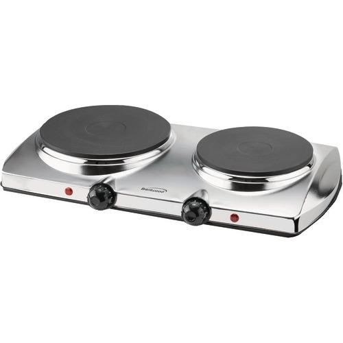 Brentwood 1,440-watt Electric Double Hot Plate (pack of 1 Ea)