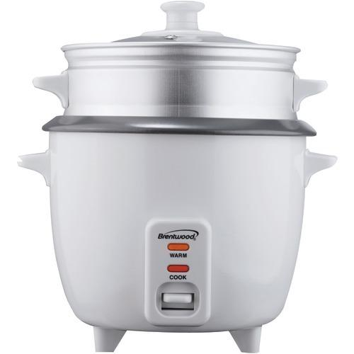 Brentwood Rice Cooker With Steamer (5 Cups, 400w) (pack of 1 Ea)