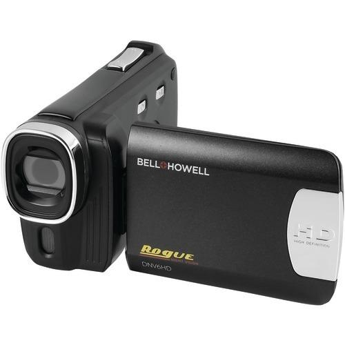 Bell+howell 20.0-megapixel Rogue Dnv6hd 1080p Ir Night-vision Camcorder (pack of 1 Ea)