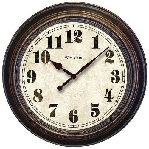 """Westclox 24"""" Round Oversized Classic Clock (pack of 1 Ea)"""