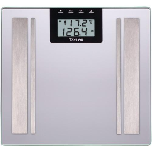 Taylor Body Fat Digital Scale (silver) (pack of 1 Ea)
