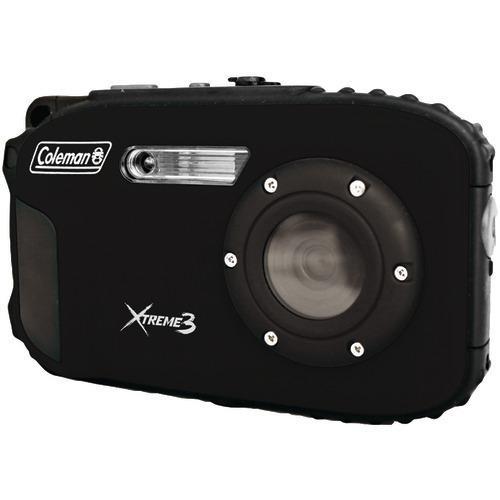 Coleman 20.0-megapixel Xtreme3 Hd Video Waterproof Digital Camera (black) (pack of 1 Ea)
