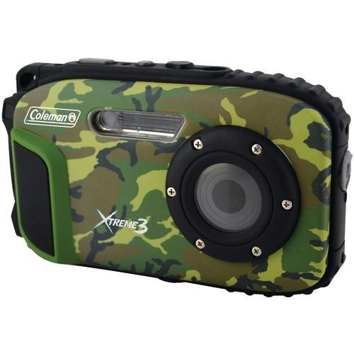 Coleman 20.0-megapixel Xtreme3 Hd Video Waterproof Digital Camera (camo) (pack of 1 Ea)