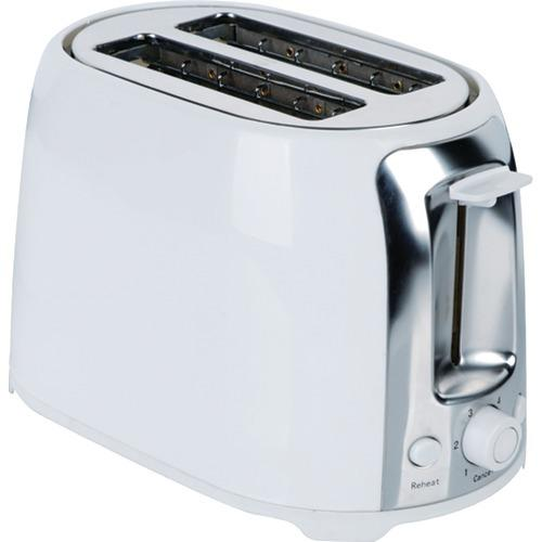 Brentwood 2-slice Cool Touch Toaster (white & Stainless Steel) (pack of 1 Ea)