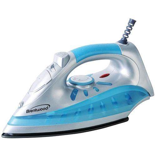 Brentwood Nonstick Steam And Dry, Spray Iron With Silver Finish (pack of 1 Ea)