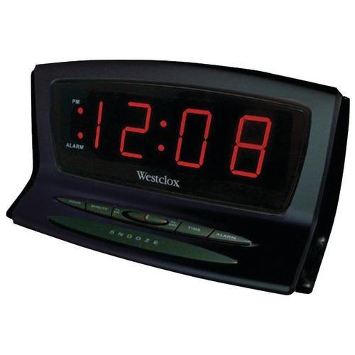 Westclox Instant-set Led Alarm Clock (pack of 1 Ea)