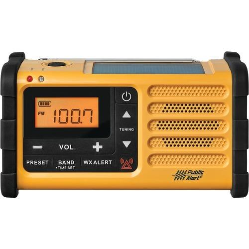 Sangean Am And Fm Weather Crank Radio With Usb (pack of 1 Ea)