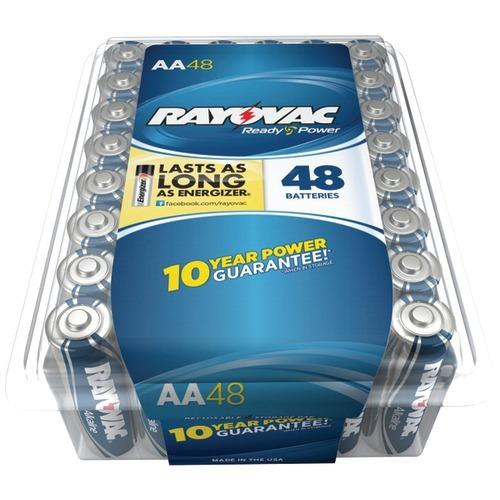 Rayovac Alkaline Batteries Reclosable Pro Pack (aa, 48 Pk) (pack of 1 Ea)