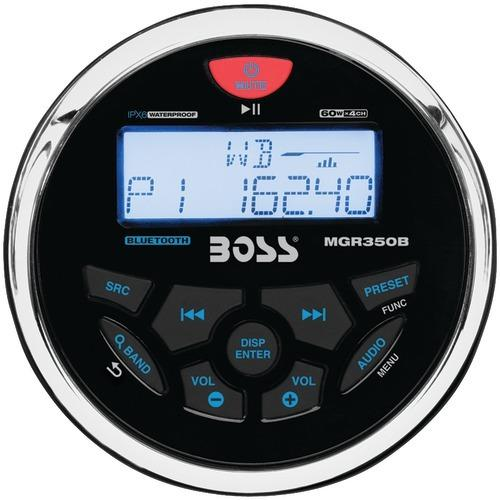 Boss Audio Marine-gauge In-dash Mechless Am And Fm Receiver With Bluetooth (pack of 1 Ea)
