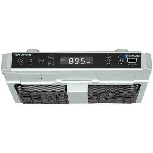 Sylvania Bluetooth Under-cabinet Kitchen Radio (pack of 1 Ea)