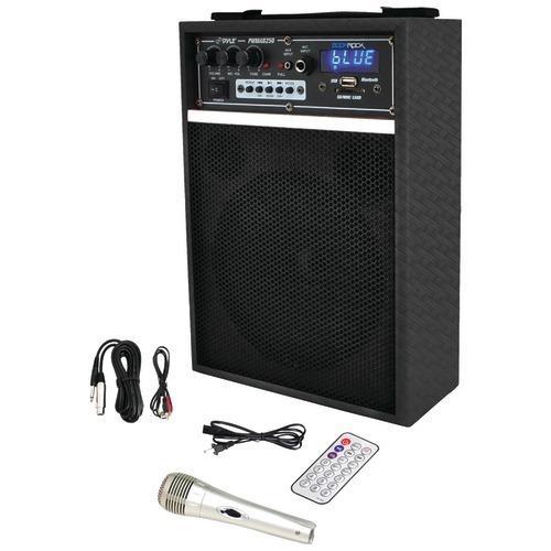 "Pyle Pro 300-watt Bluetooth 6.5"" Portable Pa Speaker System (pack of 1 Ea)"