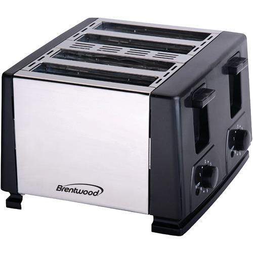 Brentwood 4-slice Toaster (black) (pack of 1 Ea)
