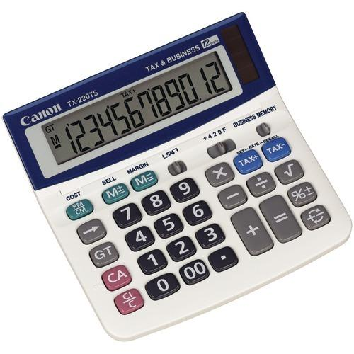 Canon Tx-220tsii Portable Display Calculator (pack of 1 Ea)
