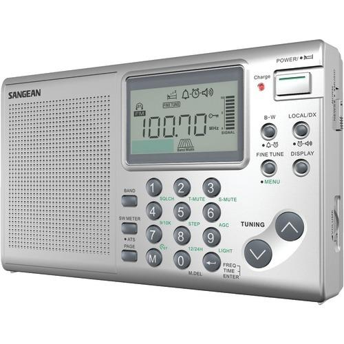 Sangean Fm And Mw And Sw Stereo World Receiver (pack of 1 Ea)