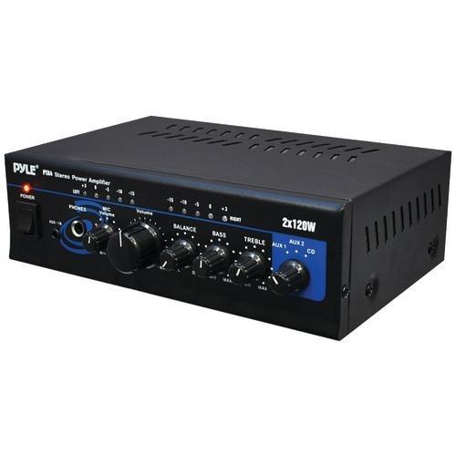 Pyle Home 120-watt X 2 Mini Stereo Power Amp (pack of 1 Ea)
