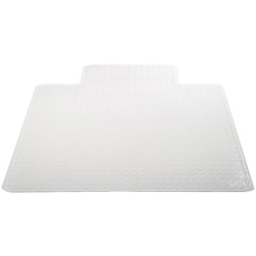 """Deflecto Chair Mat With Lip For Carpets (45"""" X 53"""", Medium Pile) (pack of 1 Ea)"""