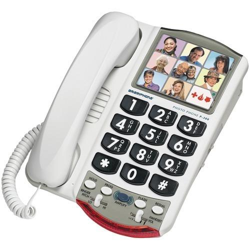 Clarity Amplified Corded Photo Phone (pack of 1 Ea)
