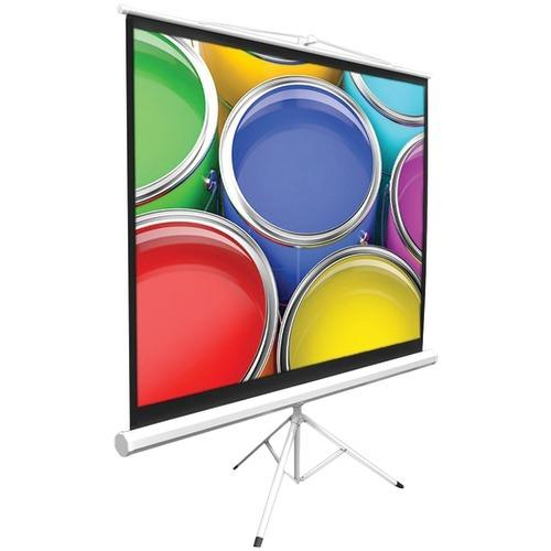 """Pyle Home Floor-standing Portable Tripod Manual Projector Screen (50"""") (pack of 1 Ea)"""