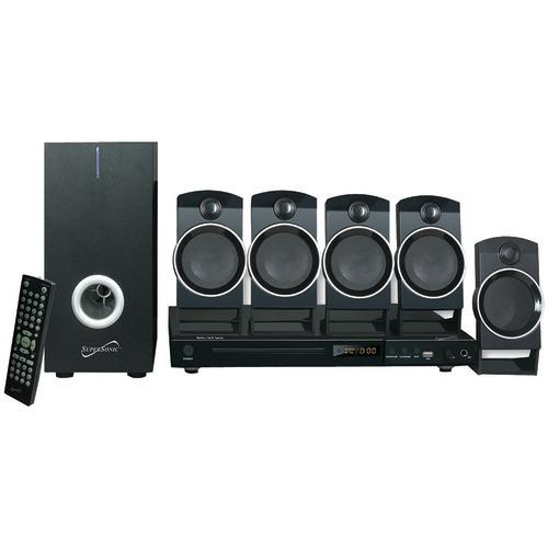 Supersonic 5.1-channel Dvd Home Theater System (pack of 1 Ea)
