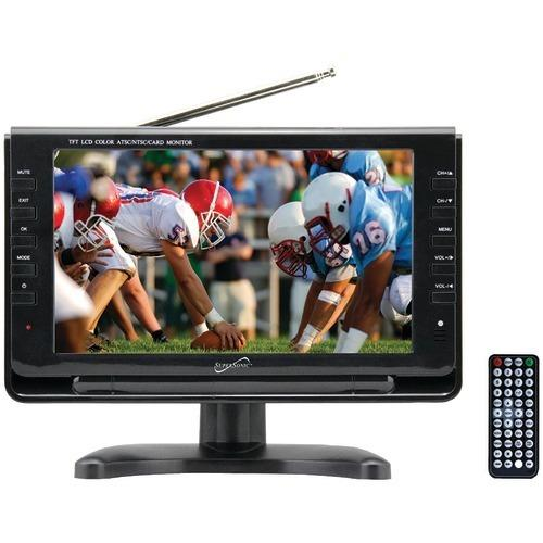 "Supersonic 9"" Tft Portable Digital Lcd Tv (pack of 1 Ea)"