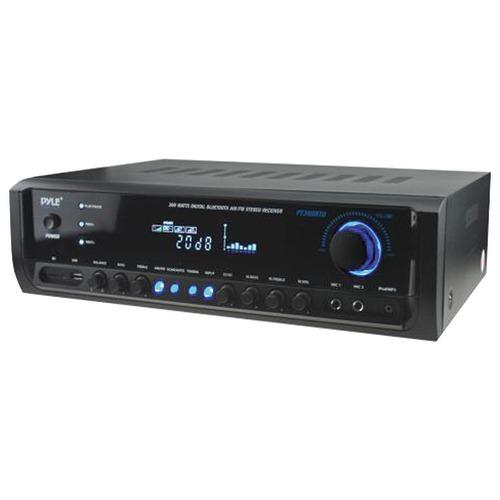 Pyle Home Digital Home Theater Bluetooth Stereo Receiver (pack of 1 Ea)
