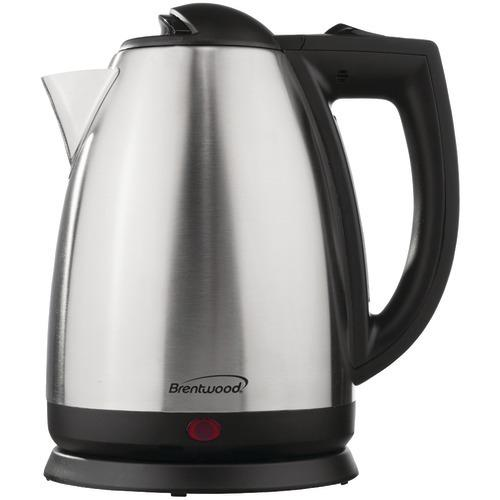 Brentwood 2l Stainless Steel Electric Cordless Tea Kettle (pack of 1 Ea)