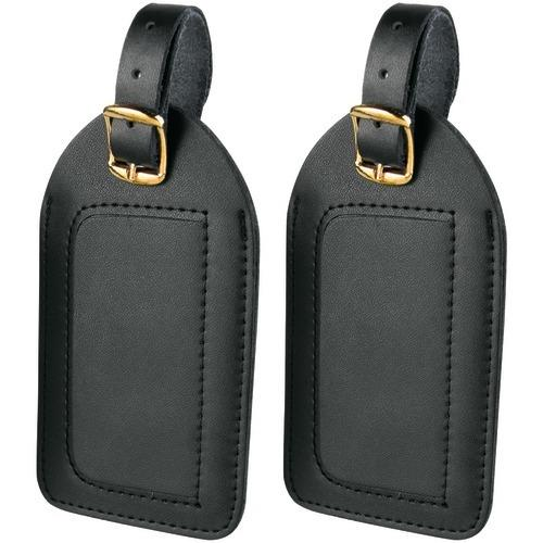 Travel Smart By Conair Leather Luggage Tags, 2 Pk (pack of 1 Ea)