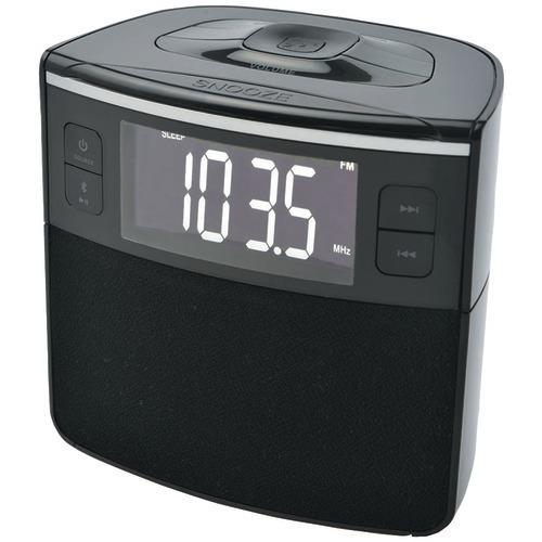 Sylvania Bluetooth Clock Radio With Auto-set Dual Alarm Clock & Usb Charging (pack of 1 Ea)