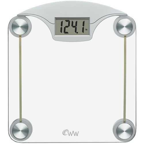 Conair Weight Watchers Digital Glass & Chrome Scale (pack of 1 Ea)