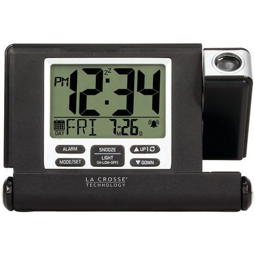 La Crosse Technology Travel Projection Alarm Clock (pack of 1 Ea)