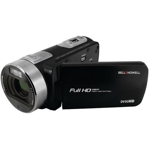 Bell+howell 20.0-megapixel 1080p Dv50hd Fun Flix Camcorder (black) (pack of 1 Ea)