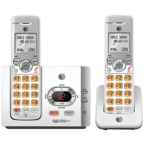 At&t Dect 6.0 Cordless Answering System With Caller Id And Call Waiting (2 Handsets) (pack of 1 Ea)