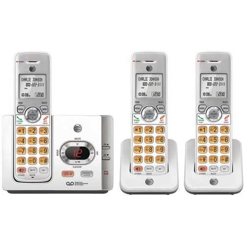 At&t Dect 6.0 Cordless Answering System With Caller Id And Call Waiting (3 Handsets) (pack of 1 Ea)