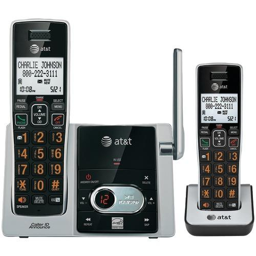 At&t Cordless Answering System With Caller Id And Call Waiting (4-handset System) (pack of 1 Ea)