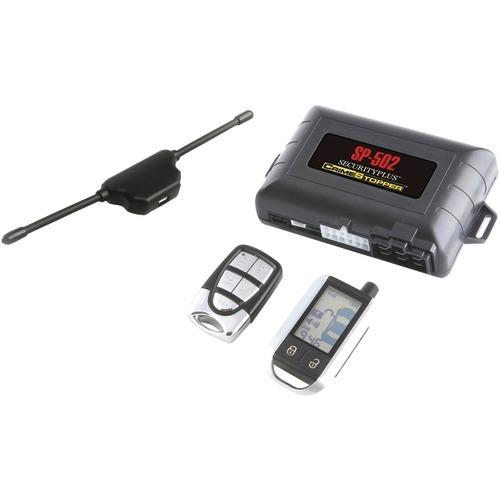 Crimestopper Universal Deluxe 2-way Lcd Security & Remote-start Combo (pack of 1 Ea)