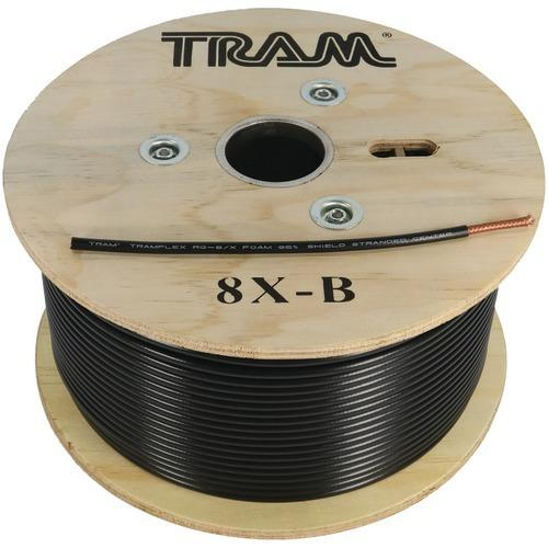 Tram Rg8x 500ft Roll Tramflex Coaxial Cable (pack of 1 Ea)
