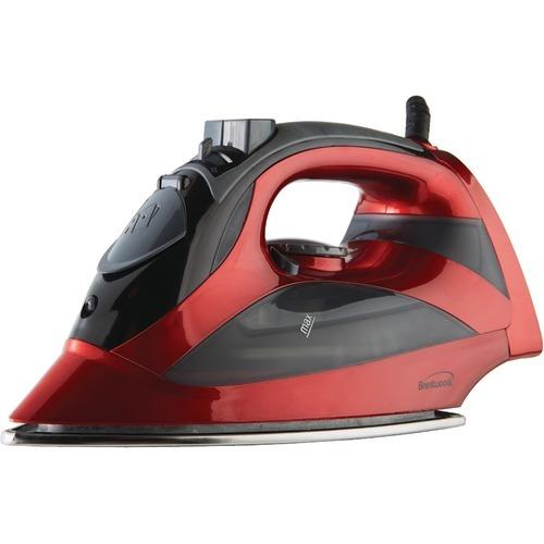 Brentwood Steam Iron With Auto Shutoff (red) (pack of 1 Ea)