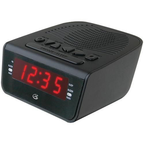 "Gpx .6"" Led Am And Fm Alarm Clock (pack of 1 Ea)"
