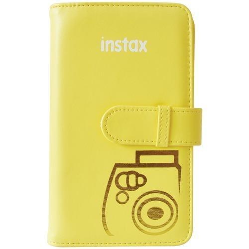 Fujifilm Instax Wallet Album (yellow) (pack of 1 Ea)