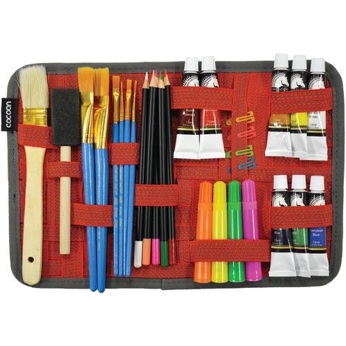 """Cocoon 8"""" X 12"""" Grid-it! Organizer (red) (pack of 1 Ea)"""