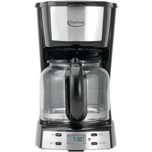 Betty Crocker 12-cup Stainless Steel Coffee Maker (pack of 1 Ea)