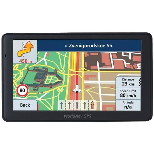 "Worldnav Worldnav 7690 High-resolution 7"" Truck Gps Device With Bluetooth (pack of 1 Ea)"