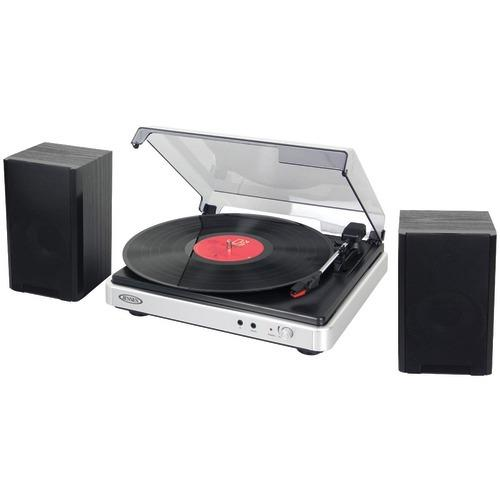 Jensen 3-speed Turntable With Stereo Speakers (pack of 1 Ea)